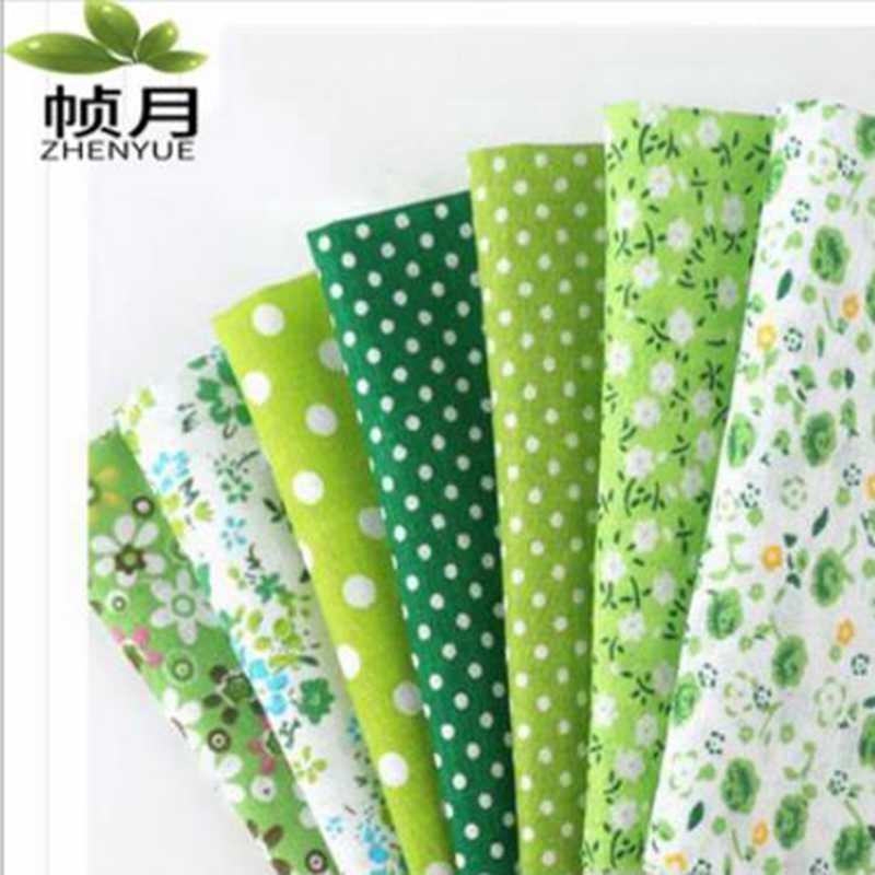 42 색 50x50 혼합 인쇄 100% 코 튼 원단 바느질 퀼트 직물 패치 워크 바느질에 대 한 기본 품질 DIY 손수 천으로