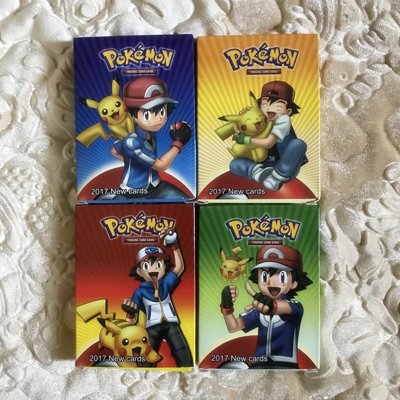 20Pcs/set Anime TAKARA TOMY Cards English Words Pokemon Carte Mega GX Engery Battle Game Trading Card With Paper Box Kids Toys