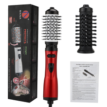Hot Comb Hair-Dryer Curler Hair-Styling-Tool One-Step Ion 2-In-1 Roller Negative-Ion