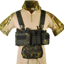 Down-Hanger Vest Airsoft Tactical Magazine Abdominal-Pouch Hunting-Accessories Chest-Rig