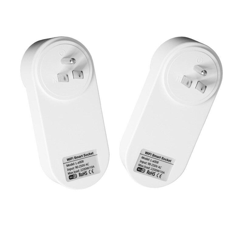 cheapest Tuya USB Wifi Smart Plug EU UK US Israel BR AU Swit FR ITA Za Wireless Power Wifi Remote Control Timer charger Alexa Google Home
