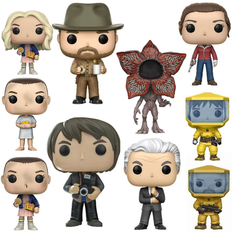 Collections Stranger Things Joyce Doll Eleven Figure Action Toys Gifts 10CM