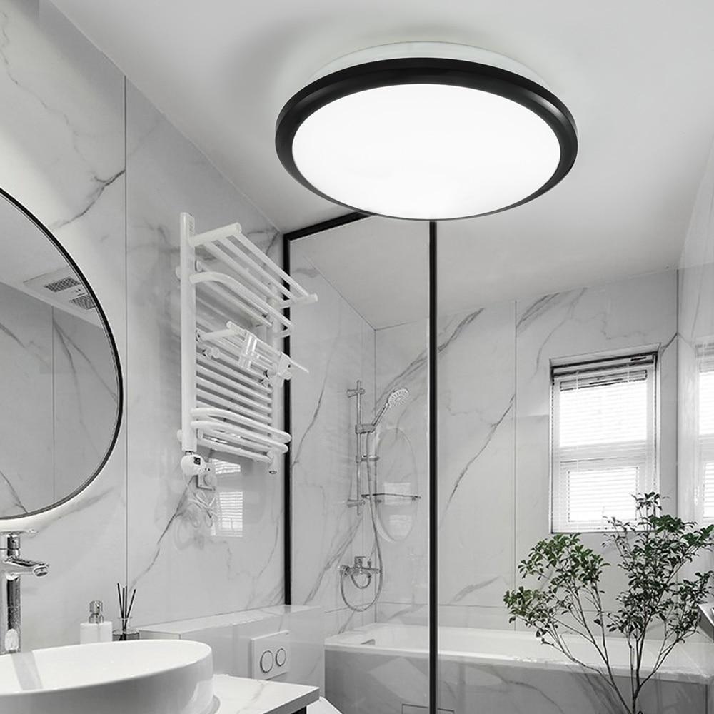 Zerouno Modern Led Ceiling Light Waterproof Bathroom Light Bedroom Mirror Light 18w 24w 30w 32w Motion Sensor Ceiling Lamp