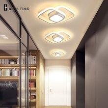 Black&White Modern Led Chandelier Luminaires Indoor Ceiling Chandelier For Living room Bedroom Kitchen Corridor Light Aluminum