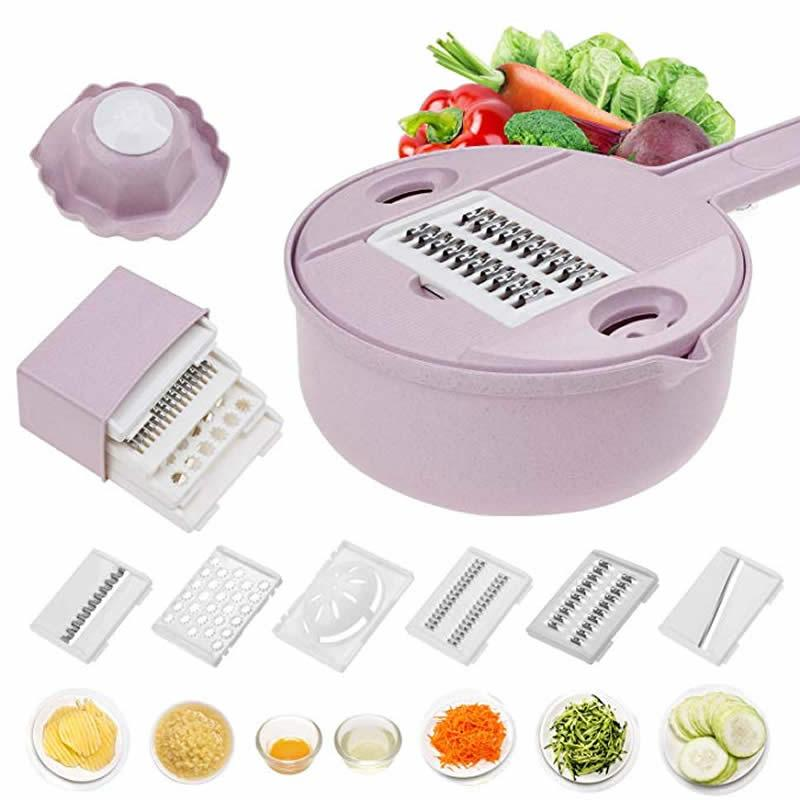 Multifunction Vegetable Cutter Kitchen Tools Vegetable Cutter Vegetable Slicer Household Potato Slicer Chip Slicer Radish Grater