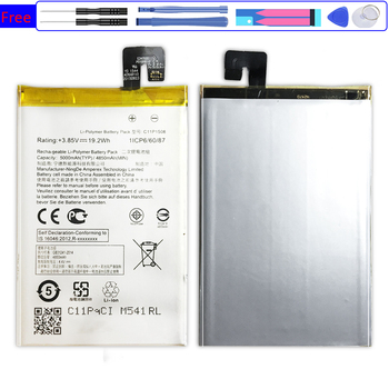 Mobile Phone Battery C11P1508 For ASUS Zonfone Max M1 M2 Pro M1 6.0 ZC550KL Z010AD Z010D Z010DA ZB601KL ZB602KL X00TDB X00TDE image