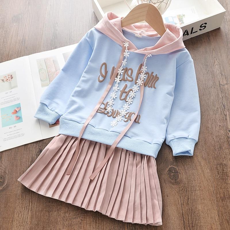 criancas vestidos da menina doce com capuz roupas 03