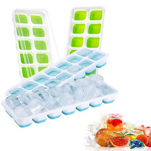 Mould-Maker Kitchen-Accessories-Tools Ice-Tray Grids Pp-Plastic Silicone Bar DIY 14