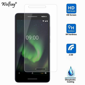 Image 3 - 2PCS Glass For Nokia 2.1 2018 Screen Protector For Nokia 2 2018 Tempered Glass For Protective Film For Nokia 2.1 TA 1080 Glass