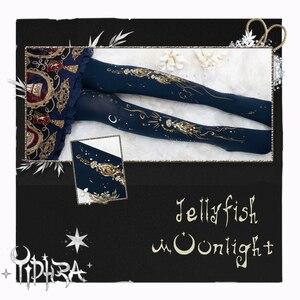 Image 5 - אור ירח מדוזה ~ מתוק לוליטה בדוגמת גרביונים גותי גרביונים