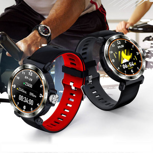 Image 1 - SENBONO S18 spor IP68 su geçirmez akıllı saat ekran dokunmatik erkekler saat nabız monitörü Smartwatch spor izci bilezik