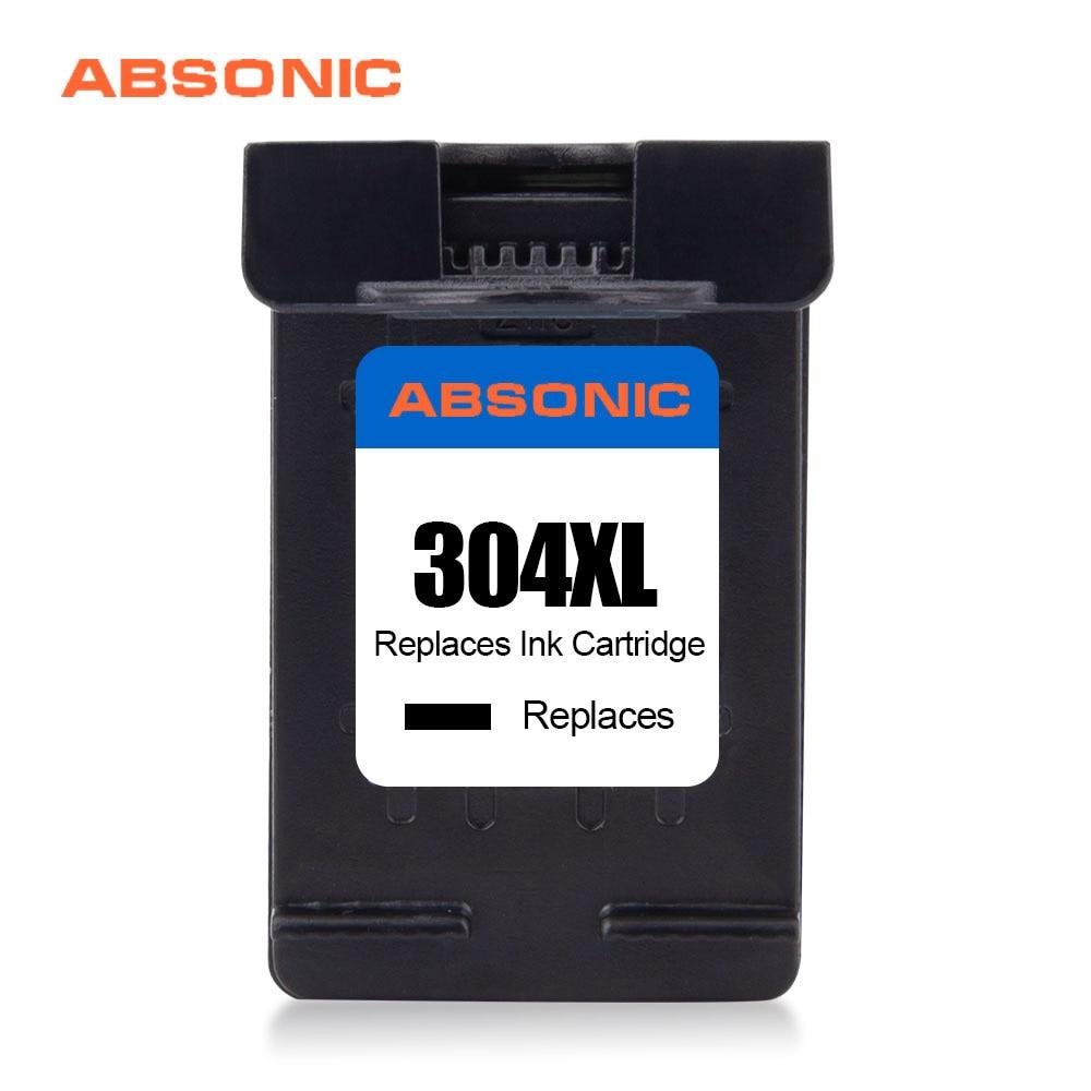 304XL Black Color Replacement for HP304 Ink Cartridge HP 304 XL for Deskjet 2630/2632/2633 Envy 5020/5030/5032/5034/5052 Printer Ink Cartridges     - title=