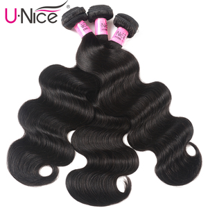 Image 3 - UNICE HAIR Transparent Lace Closure With Malaysian Body Wave 3/4 Bundles with Lace Closures With Remy Hair Human Hair Bundles