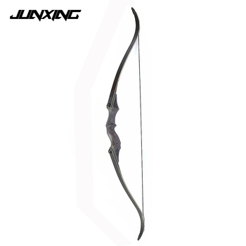 60 inches American Recurve Bow 30-60 LBS with 15 Riser for Right/Left Hand User Archery Hunting Shooting
