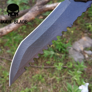 Image 4 - Tactical Fixed Blade Knife 8CR13MOV Steel Military Diving Knives Good for Hunting Camping Survival Outdoor and Everyday Carry