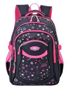 Школьный рюкзак с принтом звезды, Большая вместительная школьная сумка, рюкзак для путешествий, рюкзак для молодых студентов, рюкзак для де...