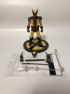 Image 4 - 6 cal Mezco tkaniny x men Wolverine 2 pokoleń figurka pcv ruchome kolekcja zabawki prezenty