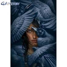 Gatyztory Раскрашивание по номерам «сделай сам» крылья женщина