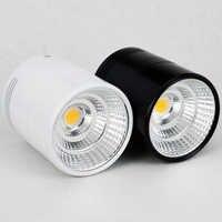 10pcs/lot Surface Mounted LED Downlight 7W 9W 12W 15W 20W 30W COB Ceiling Downlight AC 110V 220V 240V Spotlight