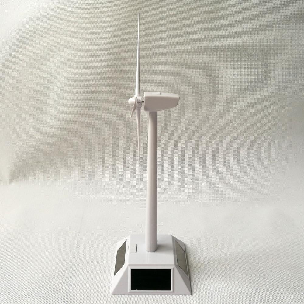 Новое поступление мини Солнечная ветряная турбина модель мини солнечная игрушка мини ветряная турбина генератор Модель на солнечных батареях ветряная мельница