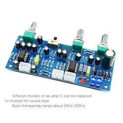 2.1 kanałowy subwoofera przedwzmacniacz płyty dolnoprzepustowym filtrem wstępnie wzmacniacz Amp pokładzie Ne5532 dolnoprzepustowym filtrem bas przedwzmacniacz