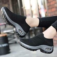 Women Lady Girls Walking Dance Shoes Super Soft Height Incre