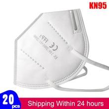 KN95 Mask Protective Dust Face Mask FFP2 KN95 Masks reusable Respirator Flu Pm2.5 Month Filter Mask