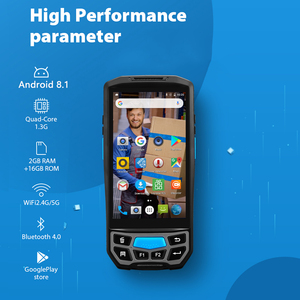Image 2 - ISSYZONEPOS Handheld POS Terminal 2D QR  Barcode Scanner NFC PDA Android 8.1 5 Inch Wireless Portable Bar Code Rearder WiFi