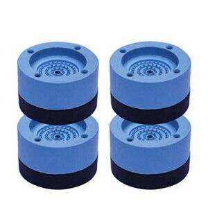 Image 5 - 4 Máy Giặt Chống Sốc Lót Tủ Lạnh Lớn Thiết Bị Nội Thất Tắt Tiếng Thảm Cao Su Chống Rung Miếng Lót Bảo Vệ Sàn Nhà