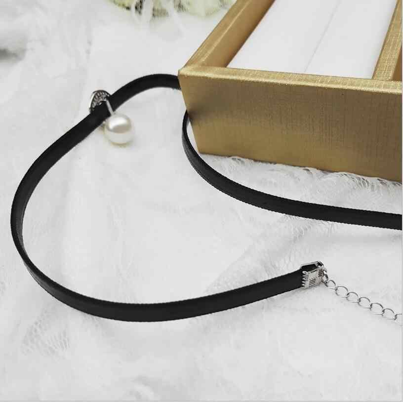 Neue 924 +++ 10mm große halskette mit perle halskette