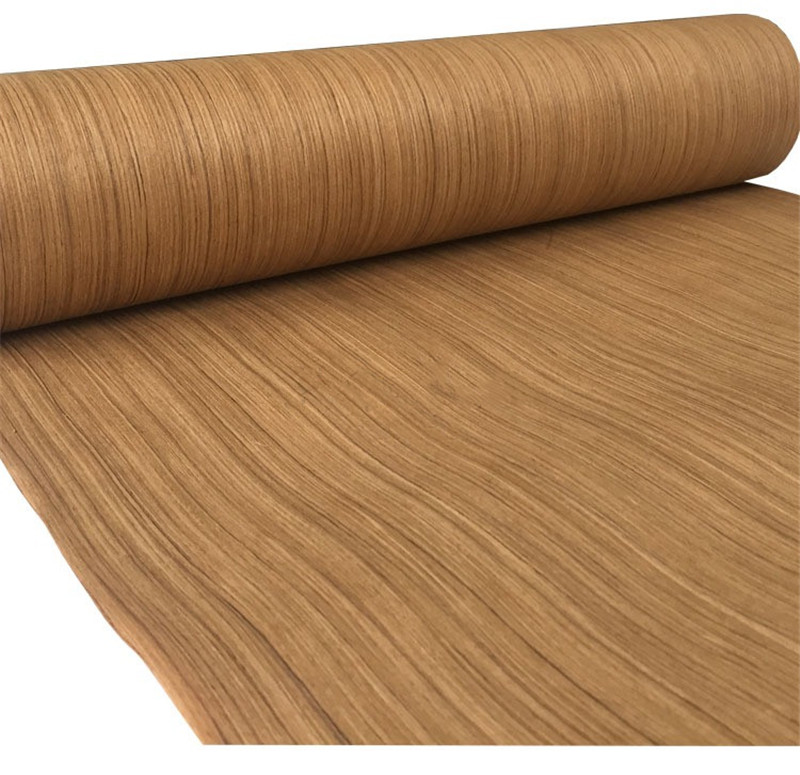 Technical Veneer Sliced Wood  Engineering Veneer E.V. Thai Teak Straight Grain Striped Q/C
