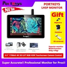 """Portkeys LH5P 5.5 """"شاشة تعمل باللمس المحمولة كاميرا مراقبة"""