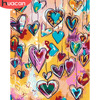 HUACAN Oil Painting By Number Love Landscape HandPainted Kits Drawing Canvas Coloring Pictures Heart Home Decoration