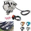 Pour KTM RC8 Duke 200 390 125 690 990 SMR SMT SuperDuke Moto lumière led phare lampe auxiliaire U5 projecteur Moto lumière