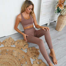 Women's Seamless Yoga Suit Sportswear Fitness Sport For Women Gym Running Set 2 Piece Costume For Yoga Sports Bras+Leggings Sets outdoor sports three piece set women yoga sets for gym running jacket