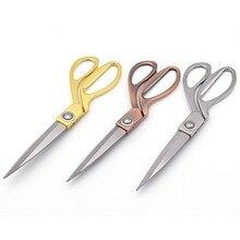 Profesjonalne nożyce nożyce do cięcia nożyczki do szycia krawieckie tkaniny ze stali nierdzewnej krawieckie nożyce do cięcia DIY