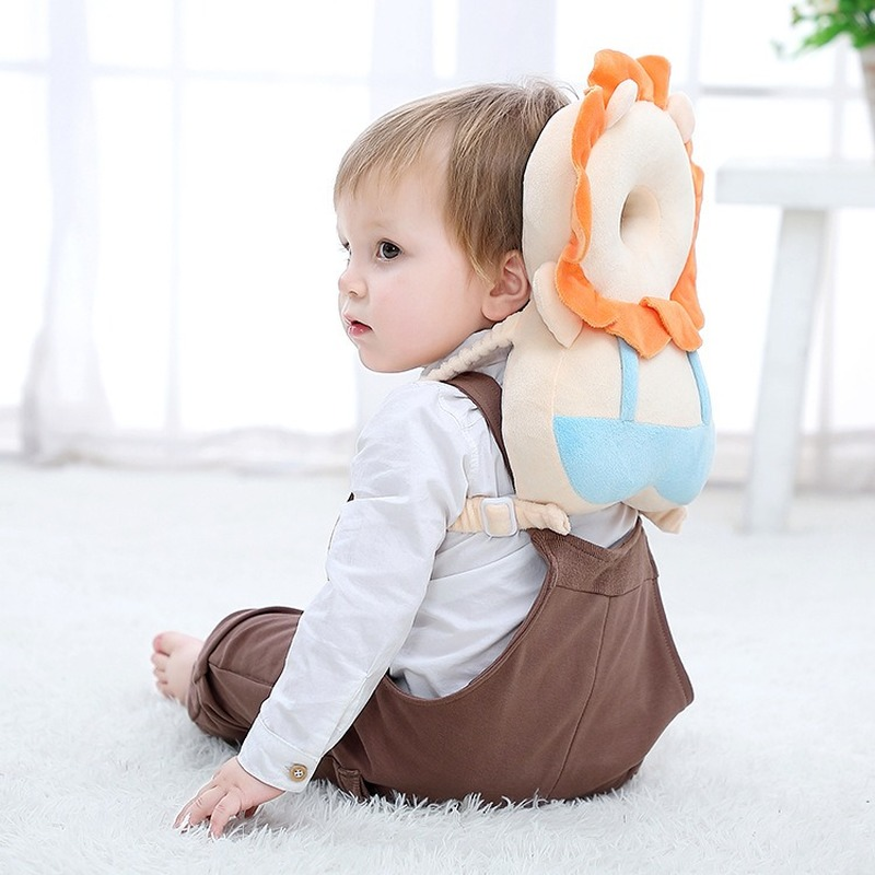 Cartoon Baby Head Protection Pad Toddler Headrest Neck Pillow For Cute Baby Nursing Drop Resistance Prevent Fall Down Cushion