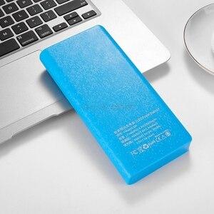 Image 5 - QC 3,0 Dual USB + tipo C PD 5V/3A 8x18650 batería DIY banco de energía caja de luz LED Cargador rápido para teléfono celular tableta