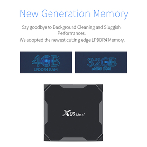 Image 5 - X96Max صندوق التلفزيون لنظام أندرويد 9.0 S905x3 8K مشغل الوسائط الذكية 4GB RAM 32GB 64GB ROM فك التشفير 2G16G QuadCore 2.4G & 5G Wifi