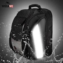 WOSAWE 12-26L High capacity Motorcycle Tank Bag Fuel Oil Moto Phone GPS Bag Motobike Storage Bag Reflective Motocross Helmet Bag
