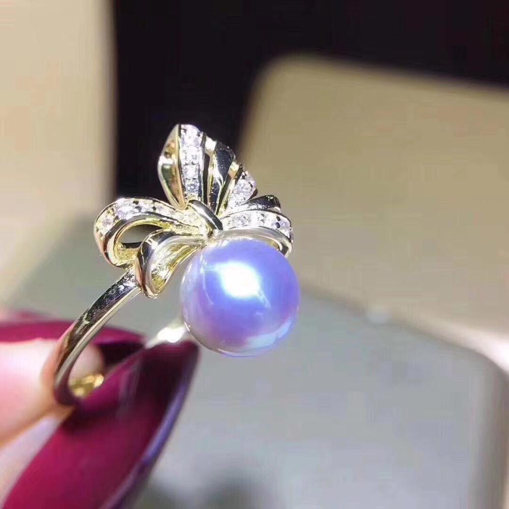Nouveauté 14K or bague montages paramètres bijoux résultats pour perles corail Agate cristal perles pierres