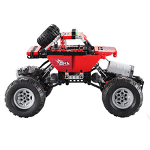 цены RC Car Set Assembling Toys Building Blocks Children Bricks Vehicles Gifts Climbing Multifunctional Off-Road ABS DIY 2.4GHz
