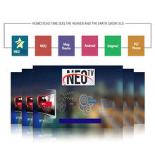 Stabiele Neo Tv Pro Arabisch Europese Iptv Spanje Portugal H.265 Hevc Box Office Sport Voor Neotv Smart Iptv M3u Tv box Android(China)