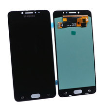 Super AMOLED LCD C7010 C7010F Touch Screen Digitizer Kit for Samsung Galaxy C7 Pro