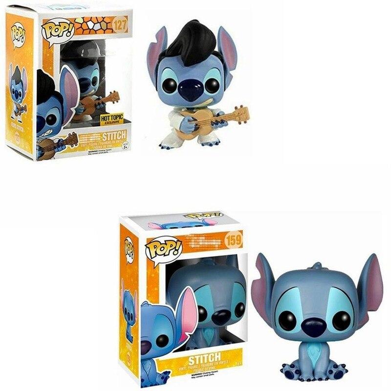 FUNKO POP muñecas de vinilo Stitch toys 127 159 PVC colección de figuras de acción modelo juguetes para niños regalos de cumpleaños con caja