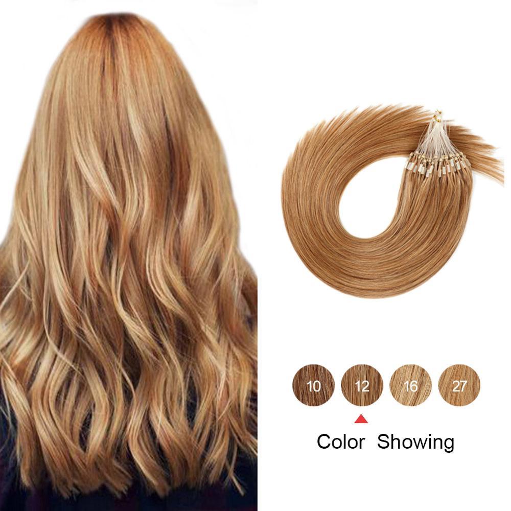Природные прямые человеческие волосы для наращивания, 16-24 дюйма