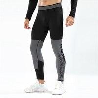 Компрессионные Леггинсы, штаны для бега, мужские Леггинсы для бодибилдинга, бега, спортивные мужские Леггинсы для тренажерного зала, фитнес...