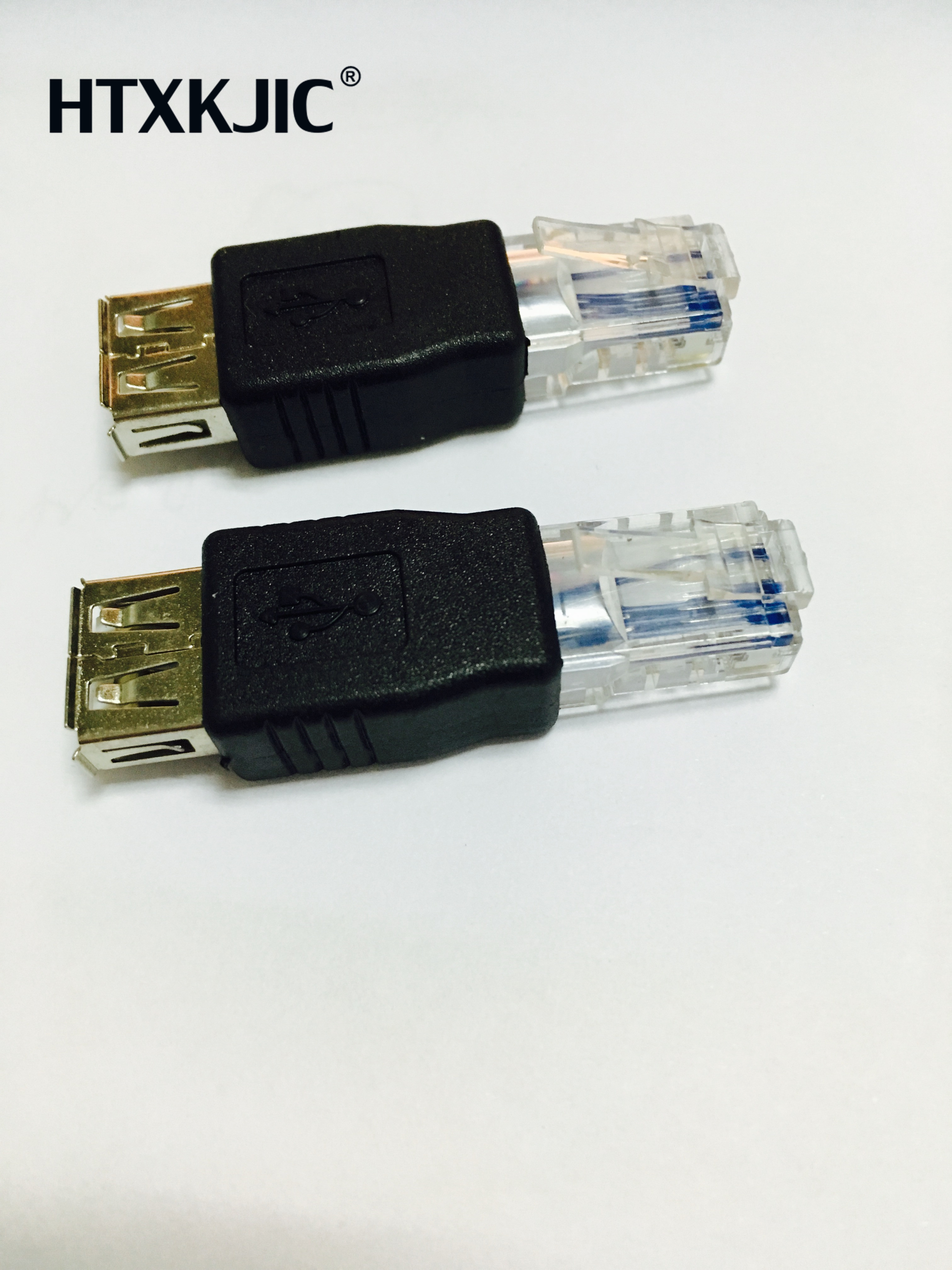 1PCS  USB Type A Female To Ethernet Internet RJ45 Male Network Converter Adapters Plug Socket