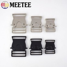 2Pcs Backpack Buckles Outdoor Paracord Bracelet Dog Collar Webbing Release Metal Buckle Safety Clasp DIY Sewing Accessories