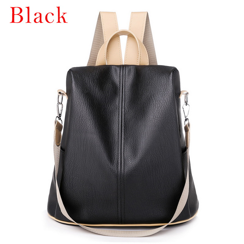 H9666a6b15eb843d5adc68cb40ceda21a8 - Fashion Women Waterproof Travel Backpack Anti-theft Oxford Backpack Female School Bags Bagpack For Girls Shoulder Bag